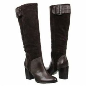 Shoes - Calvin Klein Gemma brown boots - size 7